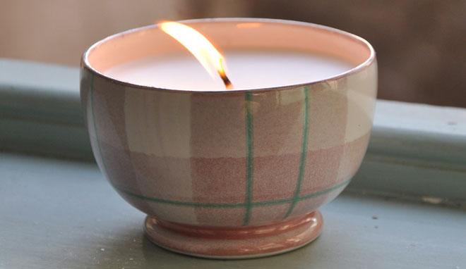 Katie Tartan Candle